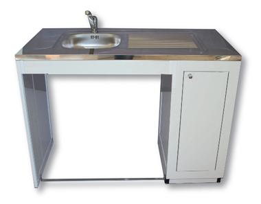 Evier de cuisine avec meuble meuble sous evier cuisine for Meuble evier buanderie